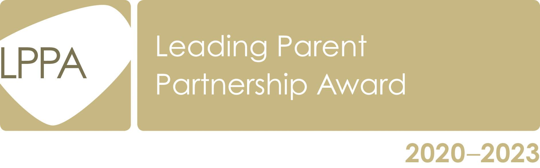 Leading Parent Partnership Award logo